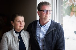 Julia and Kevin Garratt gave their account of their arrest and detention in an interview on Dec. 12, nearly three months after being reunited in Canada. Credit Ian Willms for The New York Times