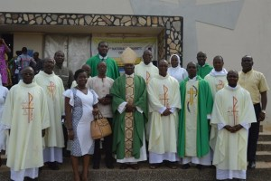 Bishop Gabriel Mante and his diocese.