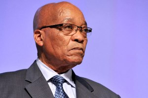 South African President Jacob Zuma must strive to put out the bush fires of xenophobia © AFP