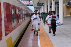 The Ethiopian and Djibouti governments have inaugurated the first and the longest electric railway line in East Africa built with the help of two Chinese firms and a Chinese bank.