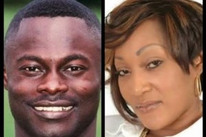 Odartey Lamptey and Gloria Lamptey