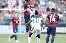 Ghana suffered another friendly defeat to USA