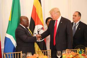 President Akufo-Addo with President Donald Trump