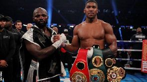 Anthony Joshua, WBA & IBF Champion