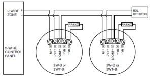 Vista 20P Smoke Detector Installation