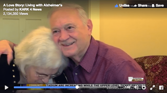 A love story with Alzheimer's