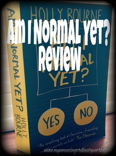 Post title: Am I normal yet? Book review.