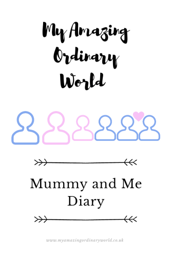 Post title: Mummy and me diary.