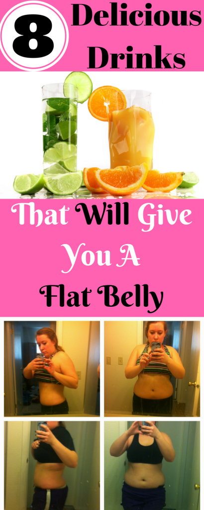 8 Delicious Drinks That Will Give You A Flat Belly
