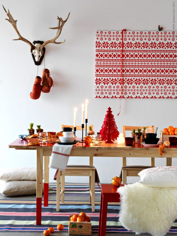 Impressive Christmas Interior Designs That Will Bring In The Holiday     swedish christmas interior design