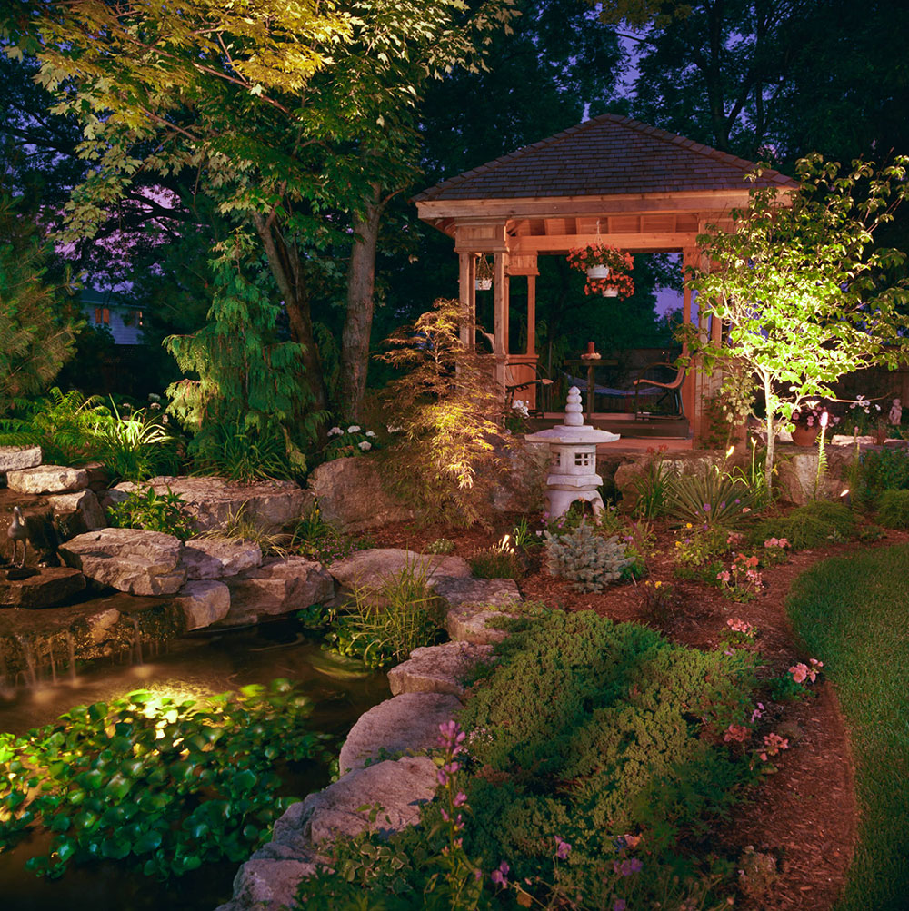 Koi Pond Landscaping