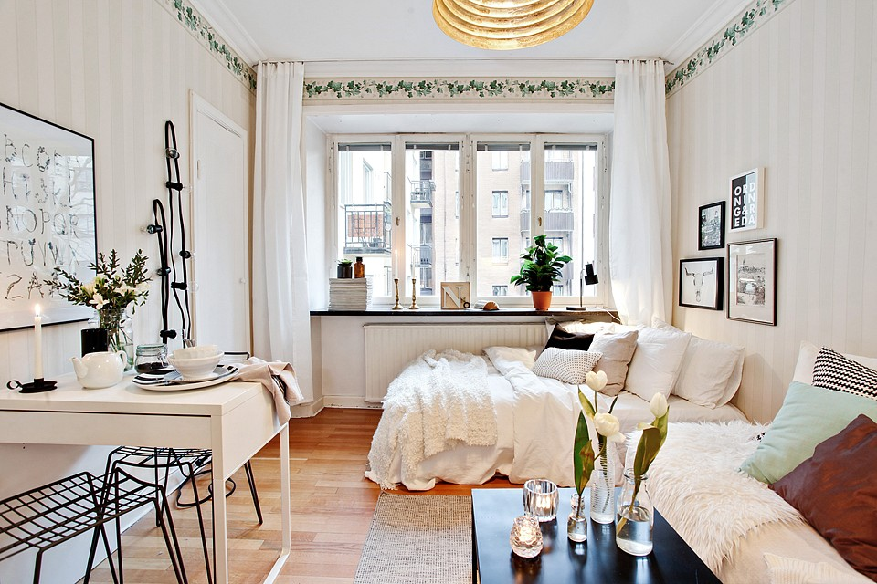 11 Open Plan Studio Apartments You Would Love To Live In