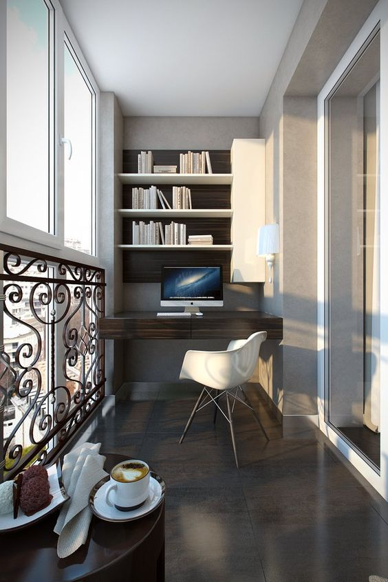 15 Small Enclosed Balcony Designs That Will Make You Say ... on Contemporary:kkgewzoz5M4= Small Bathroom Ideas  id=58645