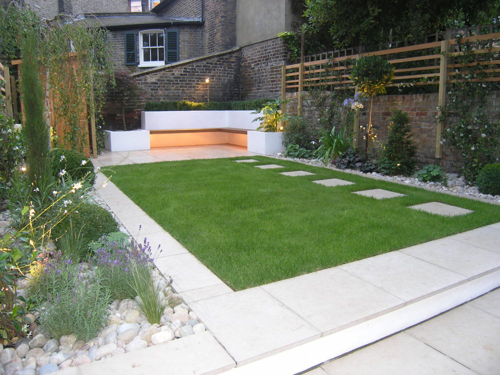 Wonderful Minimalist Backyards You Will Love To See - Page ... on Modern Landscaping Ideas For Small Backyards  id=69947