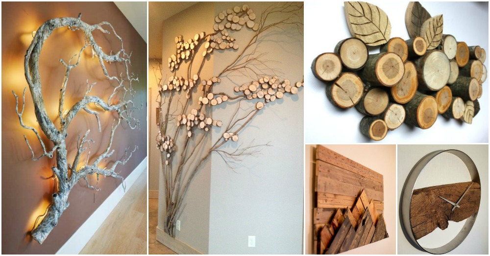 16 Wood Wall Decorations To Add Warmth To Your Home