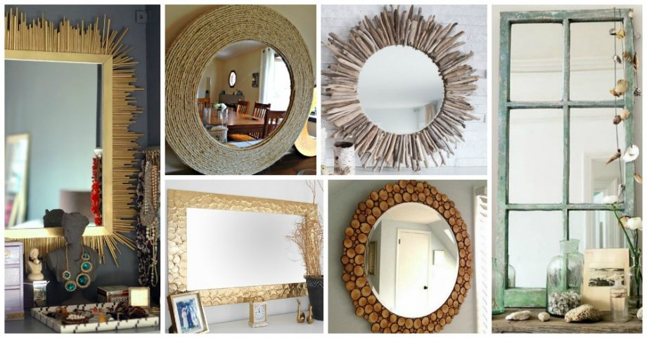 Diy Mirror Frame Ideas Archives My Amazing Things