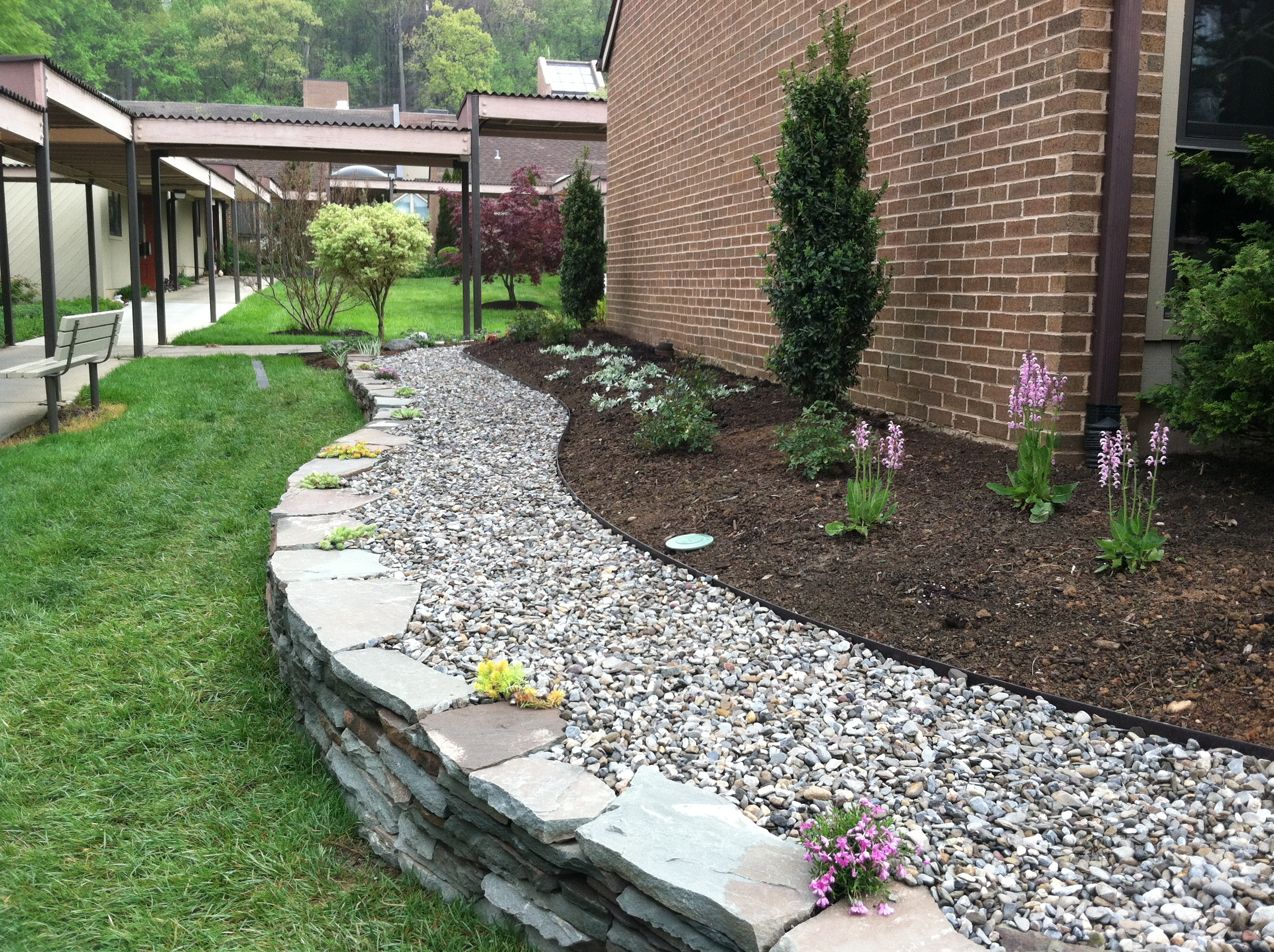 Awesome Garden Landscaping Ideas For The Space Around Your ... on Backyard Landscaping Near Me id=81091