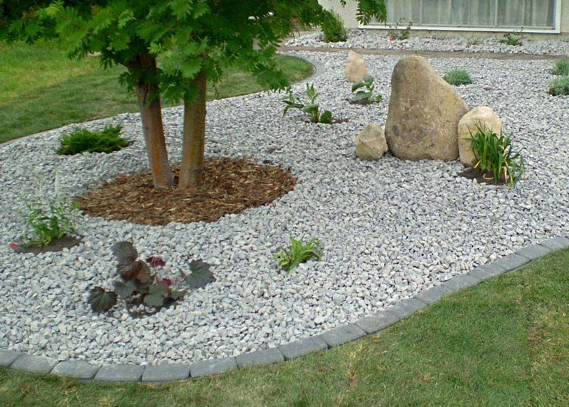 Where Buy White Rocks Landscaping