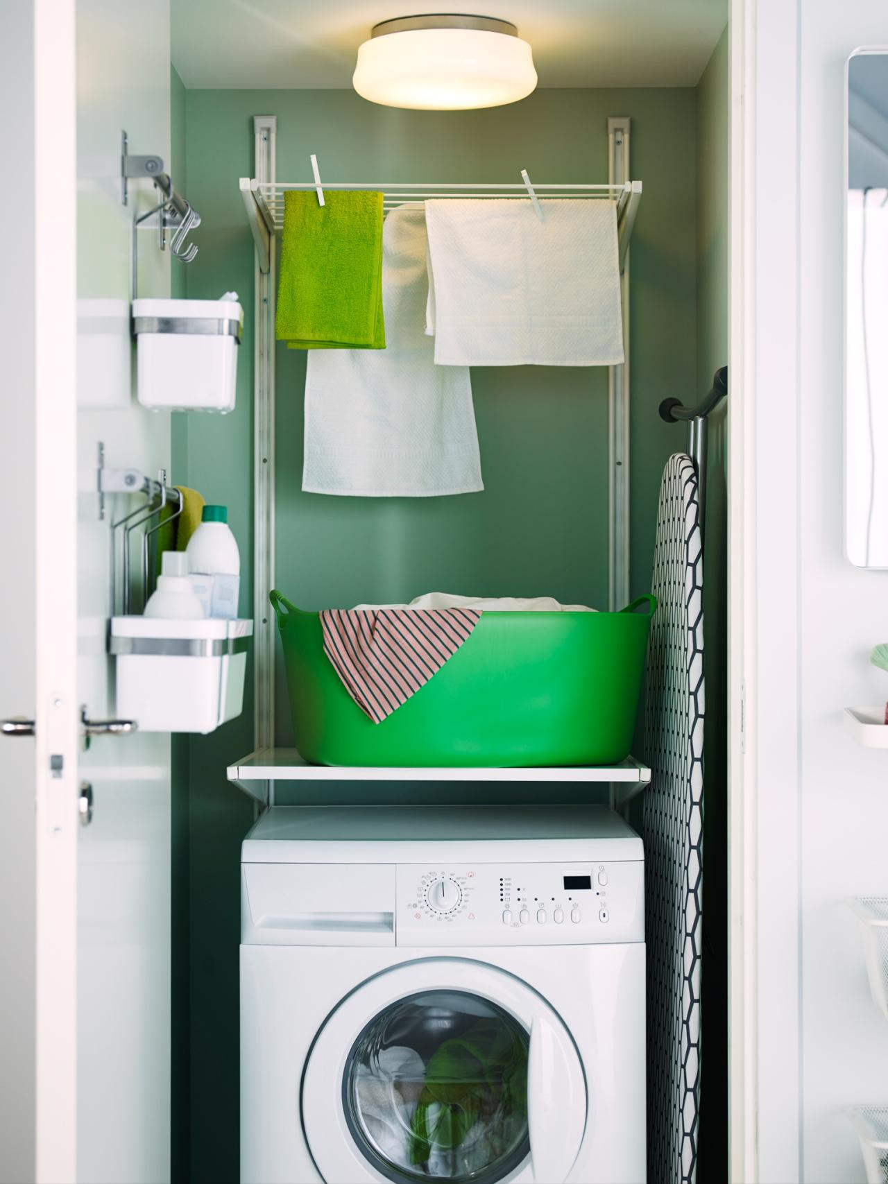 Smart Small Laundry Room Ideas To Use Every Inch Of Your Space on Small:jdu_Ojl7Plw= Kitchen Remodel Ideas  id=83263