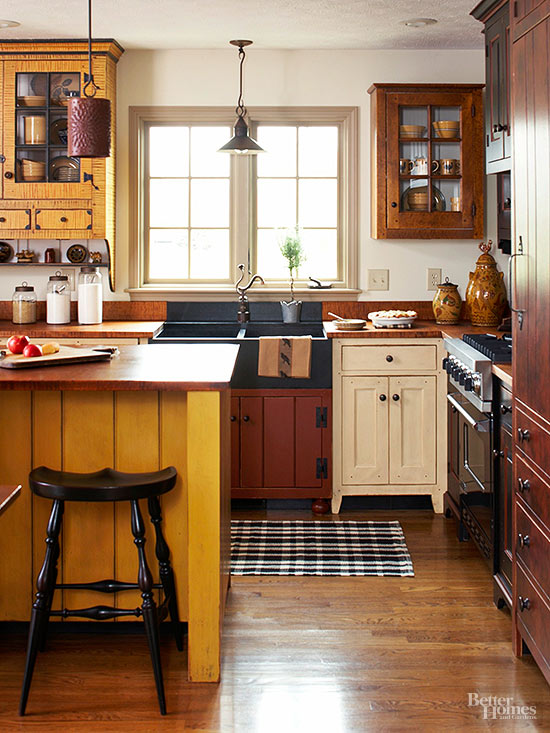 mismatched kitchen cabinets are a good way to escape from on kitchen design ideas photos and videos hgtv id=62731