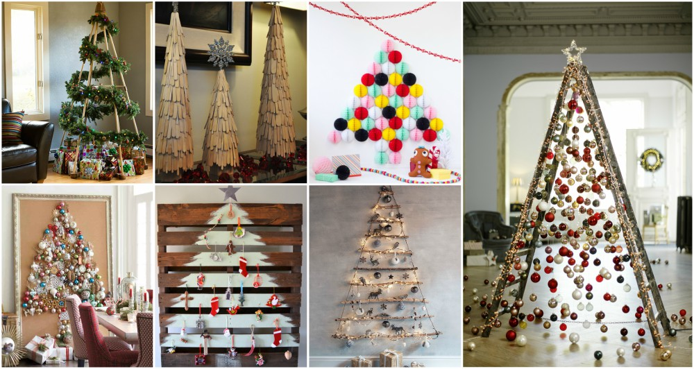 Creative Christmas Tree Alternatives That Anyone Can Make