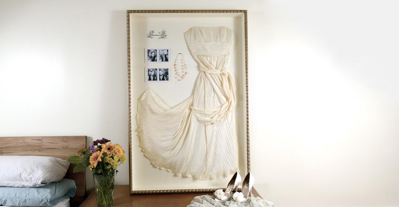 Wedding Dress Frame Ideas To Preserve Your Precious Memories