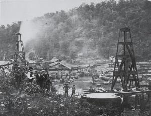 Oil City, PA in the 1870's