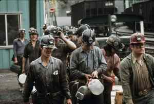 Most coal miners are not unionized.