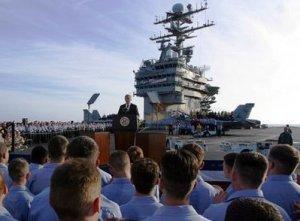 Bush's mission accomplished speech