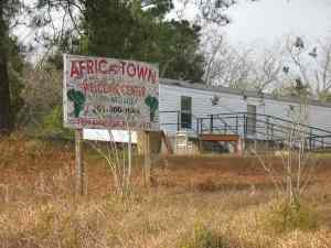 Africatown visitor's center