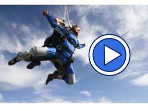 Video of Cambelle Logan skydiving