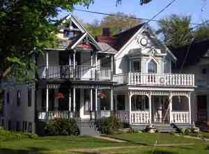 Victorian home in Lily Dale