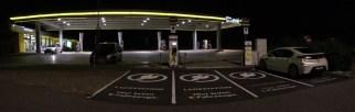 Raststation und ENI Tankstelle