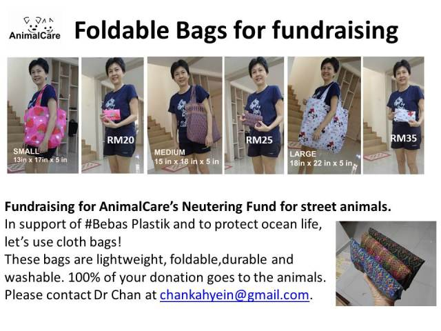 Foldable Bags all sizes latest