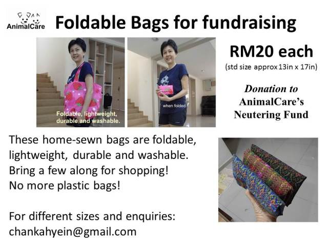 More Foldable Bags!