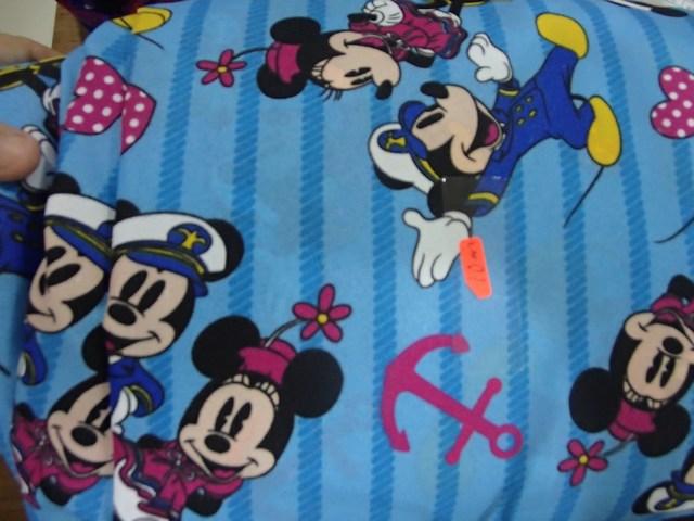 Mickey stripe blue