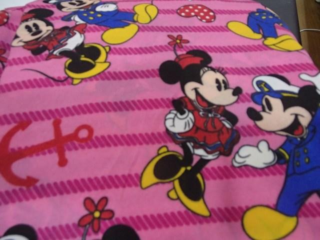 Mickey stripe pink