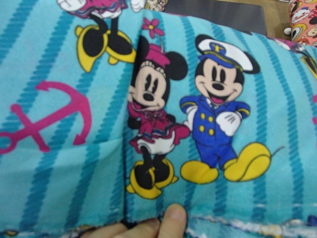 Mickey stripe turqoise