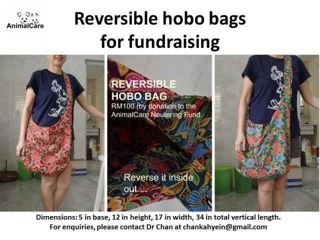 Reversible hobo bags latest