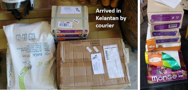 Double Charity Donation To Community Cats In Kelantan