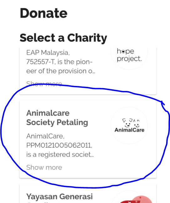 Back On Boost's Donation Tile For October 2019!