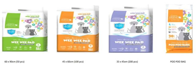 WeeWee Pads And PooPoo Bags (fundraising)