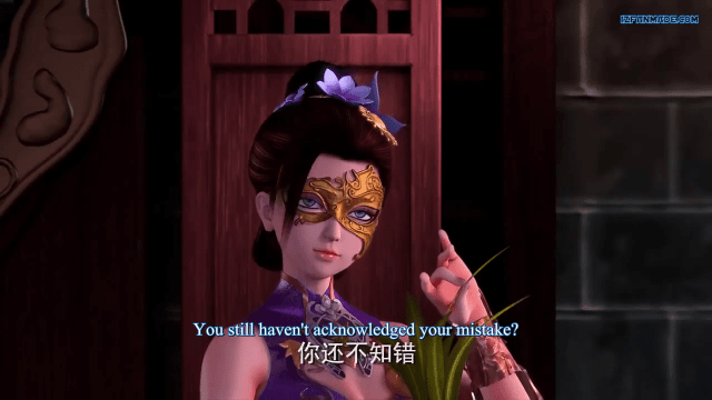 三剑豪之半面人第1季 - Three Swordsman Half Face Season 1 ( chinese anime donghua ) episode 03 english Sub