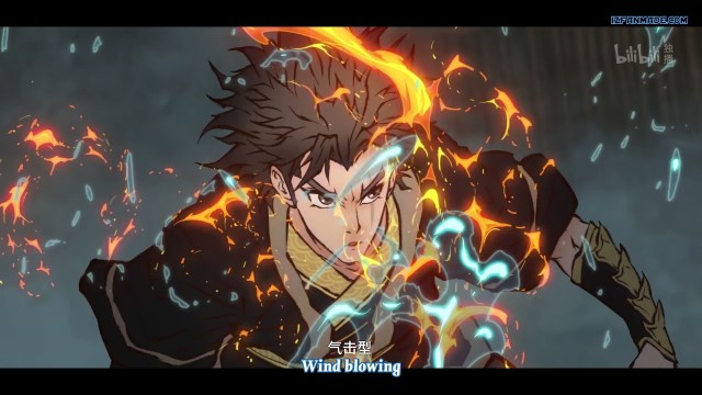 Wushan Wuxing - Fog Hill of Five Elements ( chinese anime donghua ) episode 02 english sub