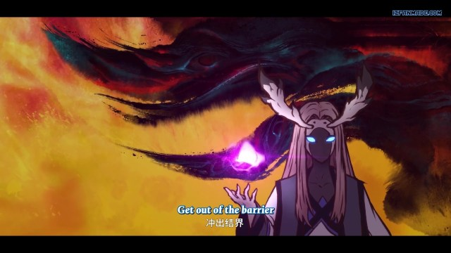 Wushan Wuxing - Fog Hill of Five Elements ( chinese anime donghua ) episode 03 english sub