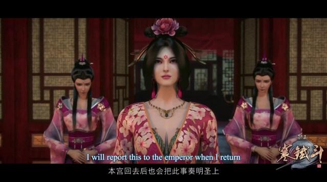 Mu Wang Zhi Wang Han Tie Dou - Great King of the Grave Season 2 (chinese anime donghua ) episode 13 ( ep33 ) english sub