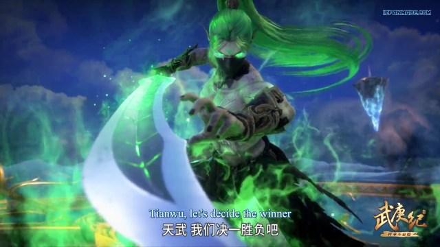 Wu Geng Ji - The Legend and the Hero (chinese anime donghua ) Season 3 Episode 37 english sub