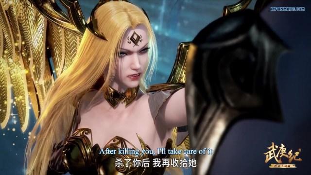 Wu Geng Ji - The Legend and the Hero (chinese anime donghua ) Season 3 Episode 39 english sub