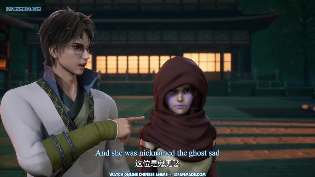 Yi Shijie Zhongyao Pu - Different World Medicine Shop ( chinese anime ) episode 39 english sub (1)