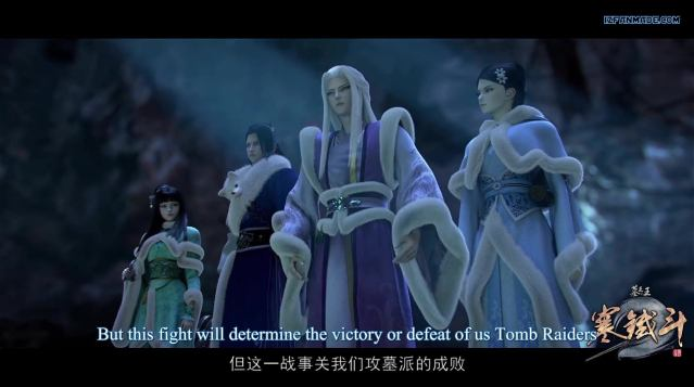 Mu Wang Zhi Wang: Han Tie Dou - Great King of the Grave Season 2 (chinese anime | donghua ) episode 20 ( ep40 ) english sub
